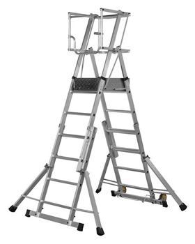 Escaleras plataforma de trabajo de uso profesional for Escaleras de trabajo