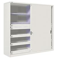 armarios de taller altos con puertas correderas On taller de puertas correderas