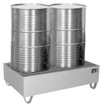 Cubetas colectoras de acero inoxidable para barriles y bidones for Cubetas de acero inoxidable